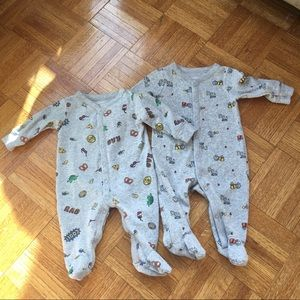 Lot carters one piece jumpsuit boys 3m football
